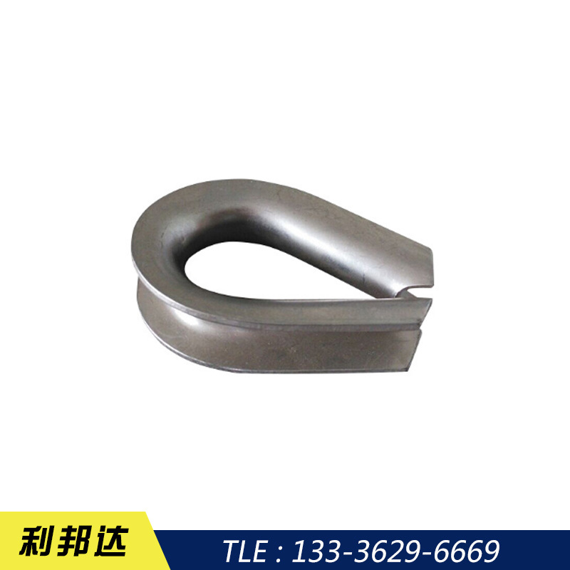 Triangle ring stainless steel wire rope collar